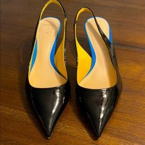 Zara black flats Size 10/40